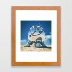 MINOR PEON (everyday 07.23.15) Framed Art Print