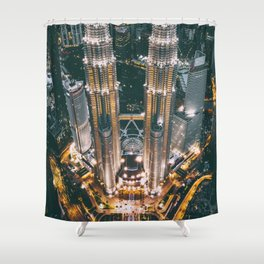 Moody KLCC Shower Curtain