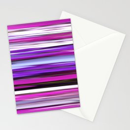 Purple blur Stationery Cards