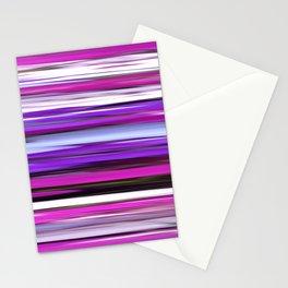 Purple blur Stationery Cards