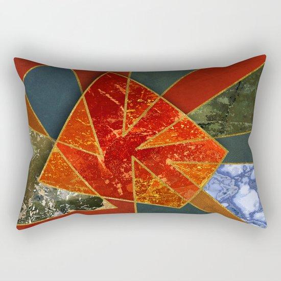 Abstract #330 Rectangular Pillow