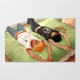 Lazy Day - Solangelo Canvas Print