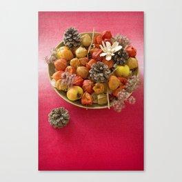 Autumn home decoration Canvas Print
