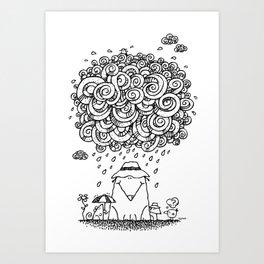 The Cloudburst Art Print