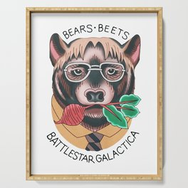 Bears beets Serving Tray