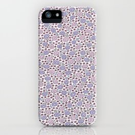 Ditsy Flora Lilac iPhone Case