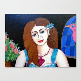 Eve closer Canvas Print
