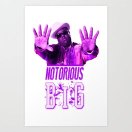 Notorious Big Art Print