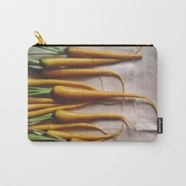 The Avant-Garden Root Veggie || Yellow Carrots  Carry-All Pouch