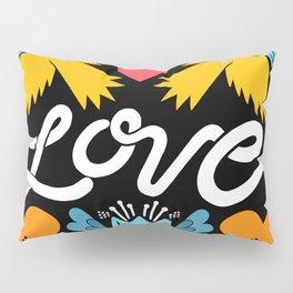 Love bird garden Pillow Sham