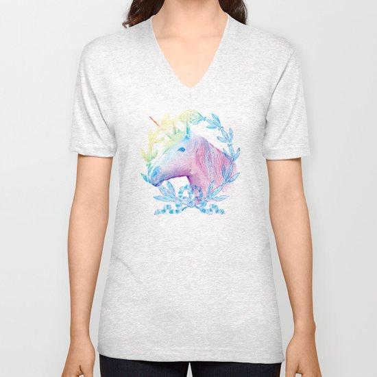Unicorn IV Unisex V-Neck