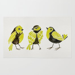 Goldfinches Rug
