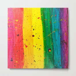 Rainbow Abstract #15 Metal Print