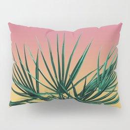 Vaporwave Palm Life - Miami Sunset Pillow Sham