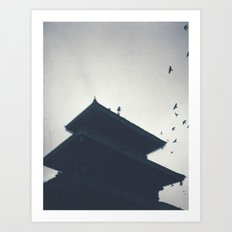 Spread your Wings at Silent Chimes Art Print