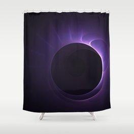 Amethyst Eclipse Shower Curtain