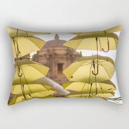 Sombrillas amarillas Rectangular Pillow