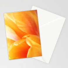 Sunny Yellow Tulip Petals Stationery Cards