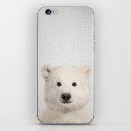 Polar Bear - Colorful iPhone Skin