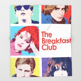 The Breakfast Club Throw Blanket