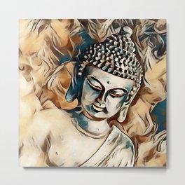 Buddha 5. Metal Print