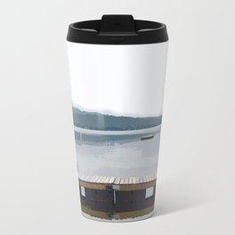 Crystal Lake, Maine Travel Mug