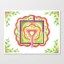 Tree of Life Labyrinth: Distinction Canvas Print