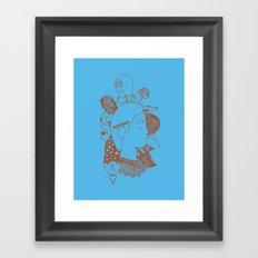 MashUp Three Framed Art Print