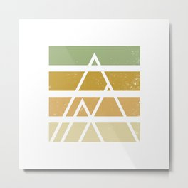 Desert color landscape Metal Print