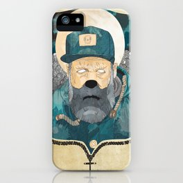 Modern day Pirate. iPhone Case