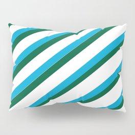 TEAM COLORS 1...LIGHT BLUE,GREEN Pillow Sham