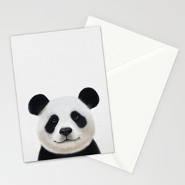 Panda print, Panda nursery art, Nursery decor, Animal art, Baby animals Stationery Cards