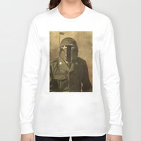 general Long Sleeve T-shirts featuring General Fettson   by Terry Fan
