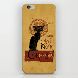 Le Chat Noir iPhone Skin
