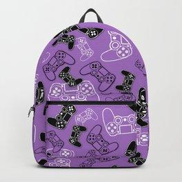 Video Games Lavender Backpack