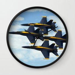 air show Wall Clock