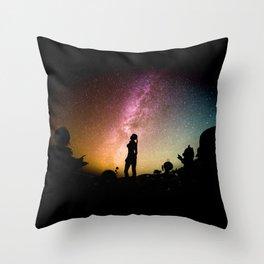 Stargazing - Super Smash Brothers Throw Pillow