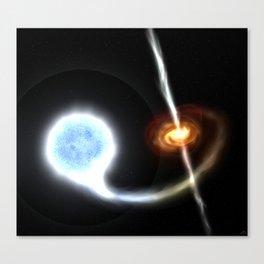 Cygnus X-1 Black Hole Canvas Print