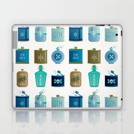 Flask Collection – Blue and Tan Palette Laptop & iPad Skin