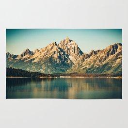 Mountain Lake Escape Rug