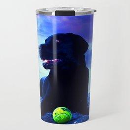Ziggy Black Labrador Travel Mug