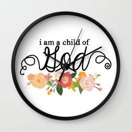 Child of God Wall Clock