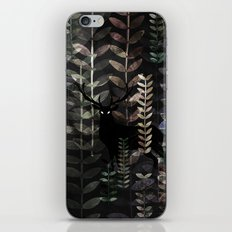 glass forest iPhone & iPod Skin