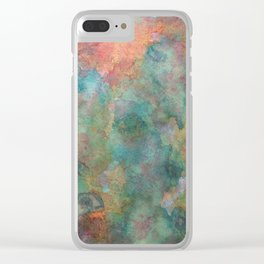 Chameleons Clear iPhone Case