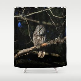 Darkness I defy thee Shower Curtain