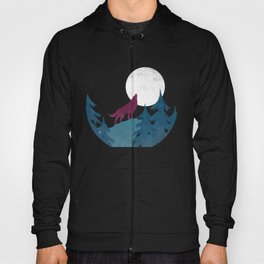 Wolf in the woods Hoody