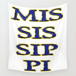 MISSISSIPPI Wall Tapestry