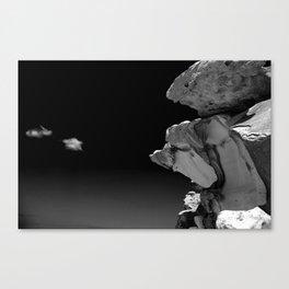 Bondi Beach Rock Formation Canvas Print