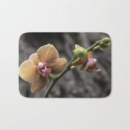 Orange Orchid Bath Mat