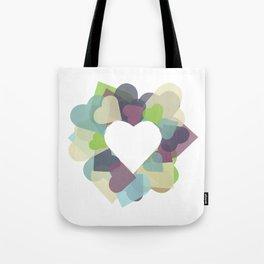 HEART HEART Tote Bag
